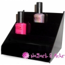 NAGELLACK-TREPPE / DISPLAY ~~SMALL/BLACK~~ mit 3 Etagen,...